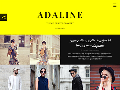 Adaline theme preview