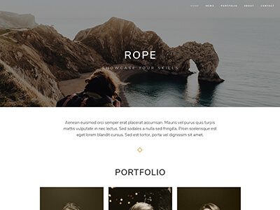 Rope theme preview
